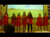 Отчетный концерт вокального ансамбля АРЛЕКИН лицей 145
