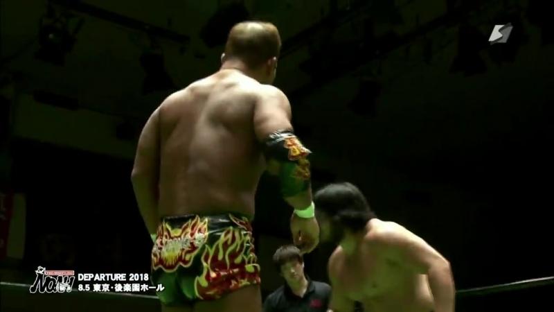 Takashi Sugiura, Naomichi Marufuji, Masato Tanaka, Akitoshi Saito vs. Go Shiozaki, Katsuhiko Nakajima, Masa Kitamiya, Kenou