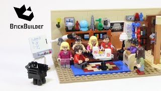 Lego Ideas 21302 The Big Bang Theory Lego Speed Build