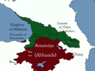 Caucasian history 737-1003 AD.