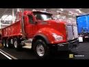 2018 Kenworth T880 Dump Truck with MX13 engine Exterior Interior Walkaround 2018 Truckworld