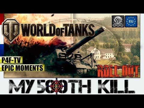 ▶ ▷ Who's GOING to be my 500TH KILL in WORLD OF TANKS | Artillery LORRAINE 155 mle. 50 - Tier VII 🕹