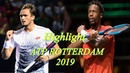 Highlight Gaël Monfils vs Daniil Medvedev   ATP ROTTERDAM 2019