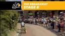 The breakaway Stage 8 Tour de France 2018