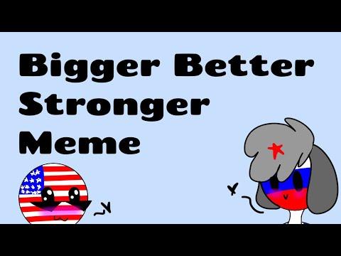 Bigger Better Stronger meme [russia x america?] (gift) (cauntry humans) (lazy)  flipaclip 27fps :D 
