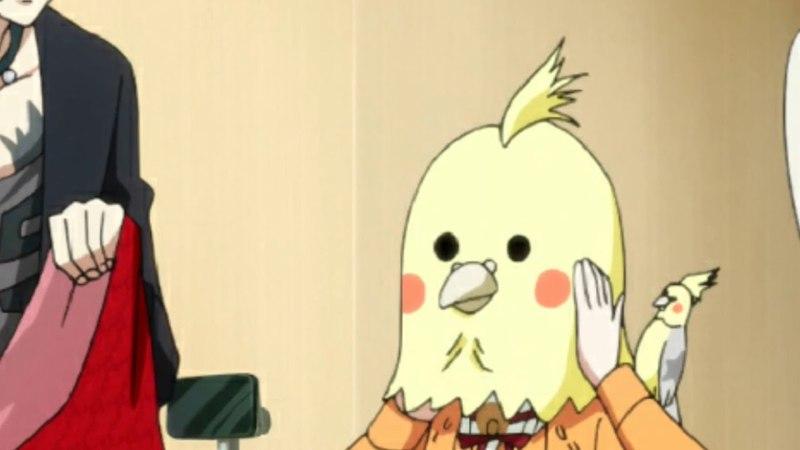 Hinami (Tokyo ghoul) I am a bird motherfucker!