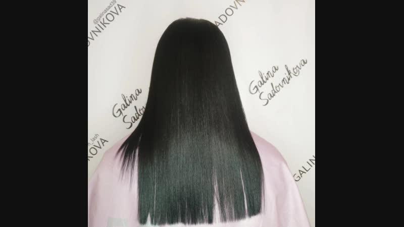 Ботокс волос для Кати
