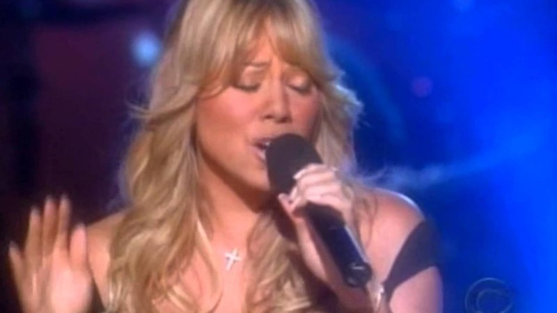 Mariah Carey Reflections (Care Enough) (Live A Home For The Holidays)