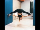 Now thats some serious flexibility