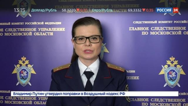 Новости на Россия 24 • В Подмосковье молодые родители задержаны за избиение младенца