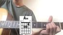 Казакша мелодия на гитаре разбор (для начинающих)