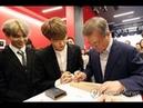 Встреча БТС с Президентом Южной Кореи / President Moon meet BTS in Paris