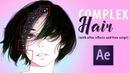 Complex Hair Movement in After Effects