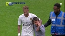Neymar stops crying PSG fan being taken by stewards, then gives him his shirt