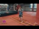 Бой с тенью на лесенке для боксеров — тренировка по боксу от Андрея Басынина