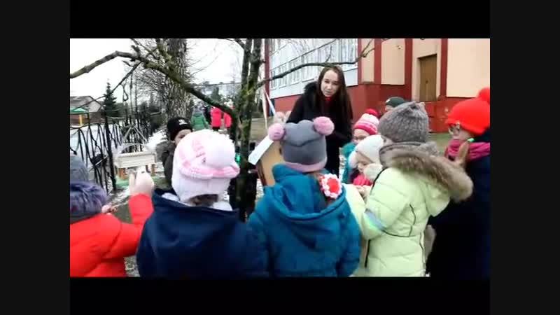 Акция Наши пернатые друзья(Чырвоны прамень, районная газета, г. Чашники, г. Новолукомль)