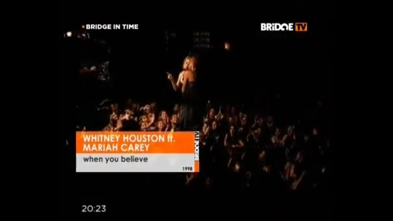 Whitney Houston feat. Mariah Carey - When You Believe (BridgeTV)