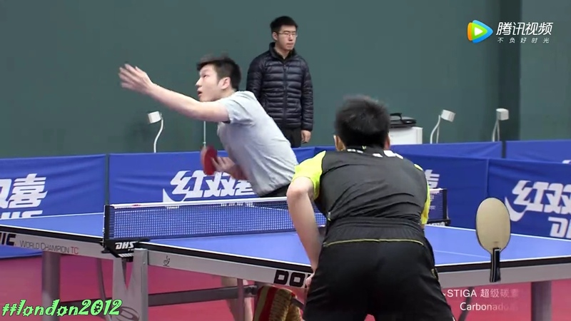 Fan Zhendong vs Fang Bo (Chinese Trials 2017) Short