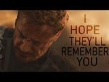 (Marvel) Tony Stark I Hope They'll Remember You