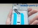 Дисплейный модуль с рамкой Xiaomi Redmi 5 Plus сервисный оригинал