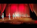 внучка на сцене театра Версия ,спектакль Дух танца - русская школа балета