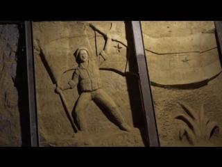 Искусство на месте войны_ художники высекают барельефы в тоннелях сирийских боевиков
