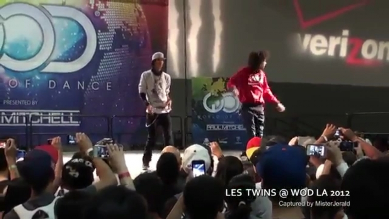 LES TWINS World Of Dance Los Angeles 2012