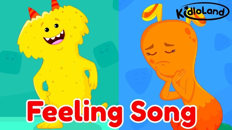 Kids Learn To Recognize Feelings Emotions | Playful Emotional Growth Songs With Lyrics For Kids