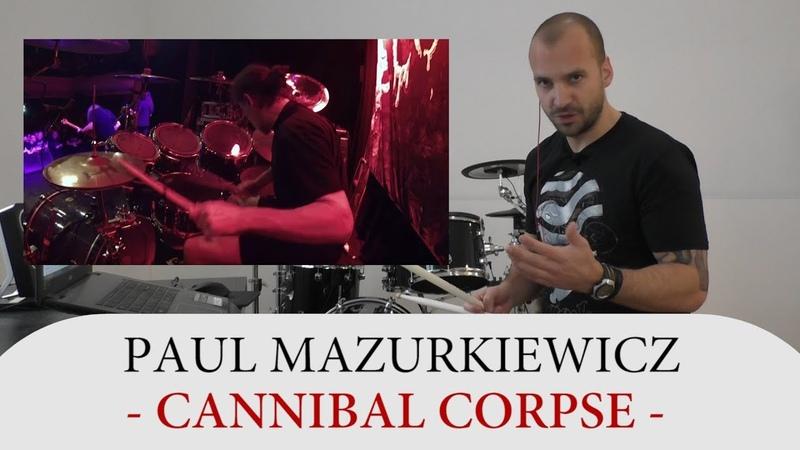 Drum Teacher Reacts to Paul Mazurkiewicz - Drummer of Cannibal Corpse