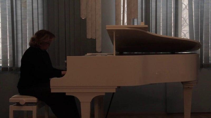 Ноктюрн фа минор,op.55 (Ф.Шопен) - Вербицкая Ольга (Рояль) - Елизавета Шевченко
