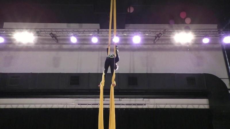Элизабет Обельчак - Catwalk Dance Fest [pole dance, aerial] 30.04.18.