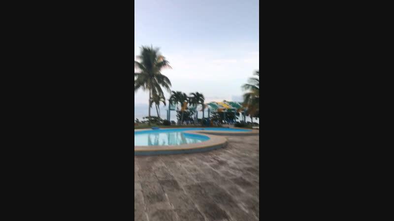 🏝🇨🇺 утро и мы бегом на пляж 🏖