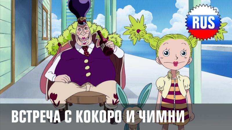 One Piece - 229: Фрагмент - Встреча с Кокоро и Чимни (озвучка OPRUS-KANSAI)