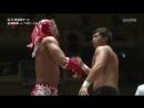 Pegaso Illuminar vs. Tsugutaka Sato WRESTLE-1 - 2018 Tour Flashing Summer - Day 1