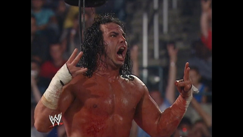 Unforgiven 2005 - Steel Cage Match - Matt Hardy vs Edge