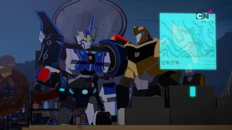 Трансформеры: Роботы Под Прикрытием s2e4 - Отстранённая