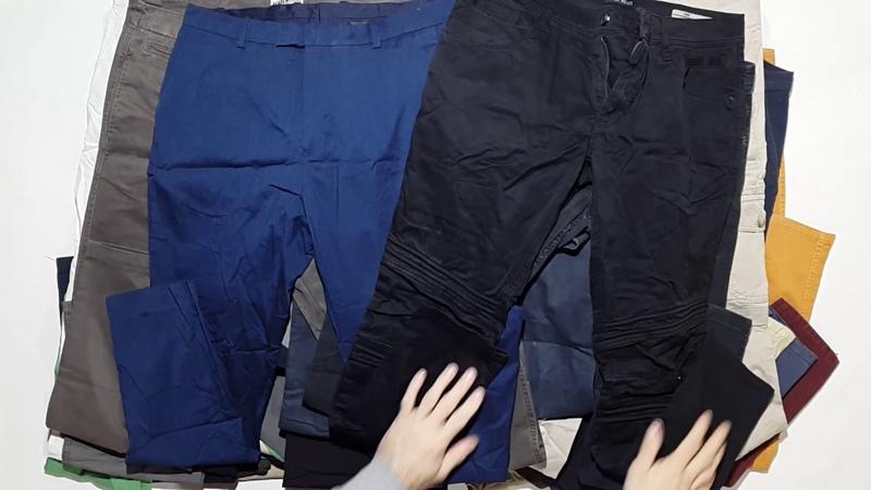 006 Штаны мужские джинсы и хлопок 55ед