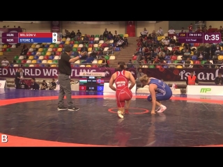 ---1-_4 FW - 69 kg- S. STORE (NOR) df. V. WILSON (HUN) by FALL, 2-1 - YouTube