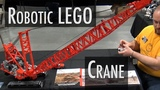 LEGO motorized Manitowoc dragline crane Brickworld Indy 2016