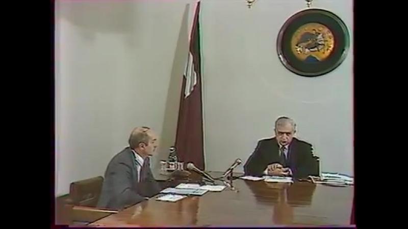 Звиад Гамсахурдия о т.н. Южной Осетии