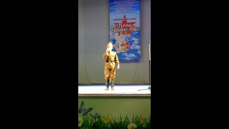 Голенев Артем - Я вернусь победителем