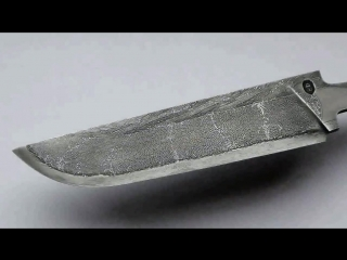 Damascus from the cable, the entire process (Blade) Дамаск из кабеля, весь процесс (лезвие)