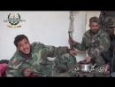 Солдат Сирийской армии воспевает в благодарность за вызволение своей матери от террористов в Восточной Гуте