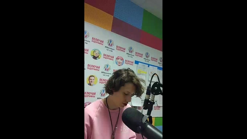 Ирина Горбачева в студии радио Миллениум