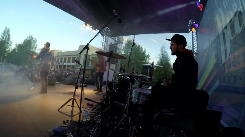 Сессионная работа c Blues Bastards фестиваль Beatles 26.05.18