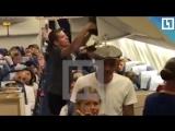 Алексей Панин устроил дебош в самолёте