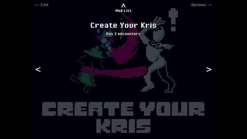 Create Your Kris - DELTARUNE in Unitale/Create Your Frisk - TRUE Release!