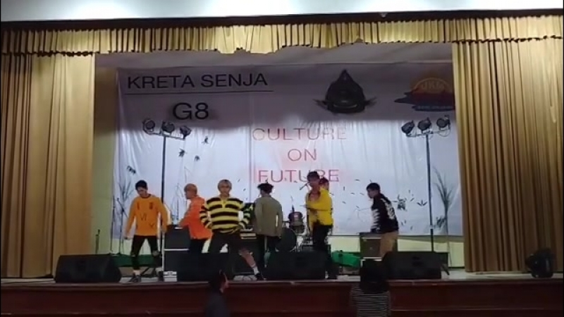 University festival in Bandung Indonesia