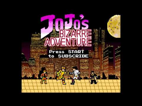 JoJo: Stardust Crusaders Opening 1 and 2 - Stand Proud and End of the World 8-bit NES Remix
