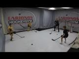 Мастер-класс от Игоря Ларионова для юных хоккеистов в тренировочном центре